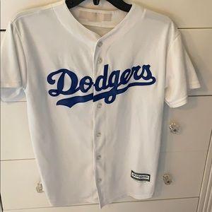 Jackie Robinson Dodgers baseball jersey kids XL